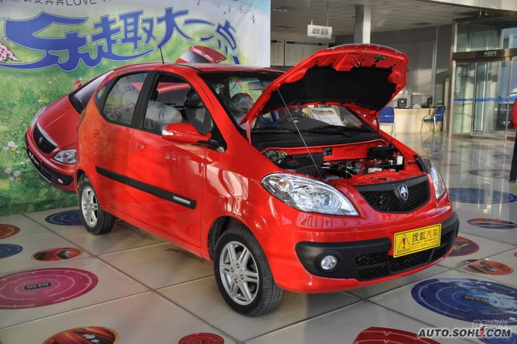 2010款长安奔奔love 1.3L手动标准型到店实拍高清图片