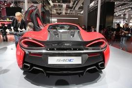迈凯轮540C 上海车展实拍