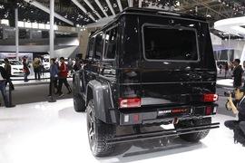 巴博斯500G 4X4北京车展实拍