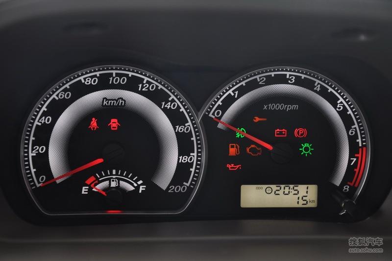 2010款长城炫丽 1.3amt 豪华型 - 仪表板