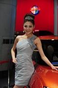 2011广州车展双龙3号车模