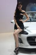 2013南京十一车展美女车模