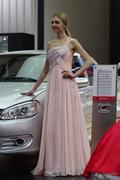 众泰4号车模 2013上海车展实拍
