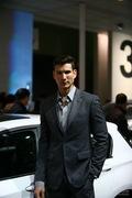 宝马4号车模 2013上海车展实拍