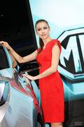 2013成都车展MG车模