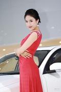 2011广州车展长丰3号车模