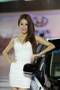 2011广州车展华泰2号车模