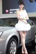 2012齐鲁春季车展车模精选