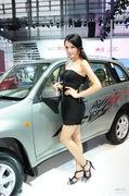 2011广州车展奇瑞2号车模