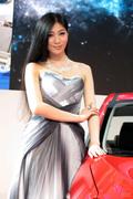 2012天津汽车工业展览会-美女模特