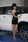 2010年长春车展美女模特
