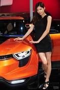 2011广州车展双龙2号车模