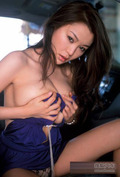 日本第一车模 紫色晚礼服艳照流出