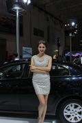 2013青岛国际车展车模风采-公主车模