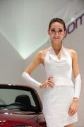 2011广州车展马自达1号车模