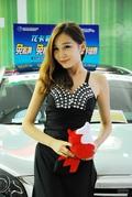 2012哈尔滨车展车模