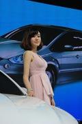 2013青岛国际车展车模风采-福特车模2