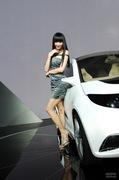 2011广州车展广汽传祺4号车模