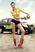 乐骋足球宝贝相聚南非世界杯