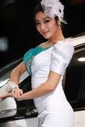 2011广州车展东风风行车模4号