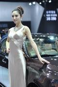 2011广州车展雷克萨斯1号车模