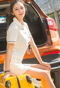 美腿女友穿短裙清纯甜美妩媚动人