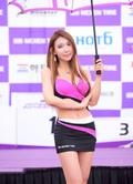 韩国车模美女都敏书身材火辣上围傲人