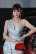 2011广州车展长安1号车模