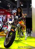 历届中国国际摩托车产业博览会摩托车展示