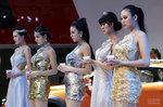 雅安加油!在上海的车模们挺你