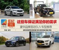 这些车保证满足你的需求:豪华品牌混动SUV推荐