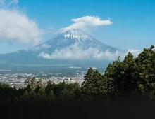 当保时捷遇见富士山