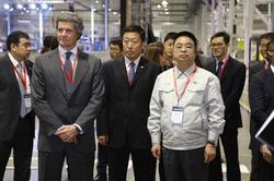 海斯坦普牵手海纳川公司 新工厂开业投产