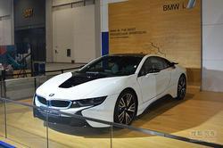 [热点车型]BMW i8在杭州汽车嘉年华亮相!