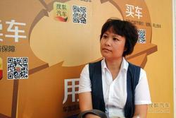 百强县巡展 访昆山锦隆4S店市场经理边悦