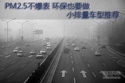 空气质量堪忧 小排量环保车型你买了吗?