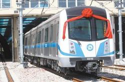 大连地铁1、2号线一期明年四月载客试运营