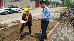 渤海做好高速公路沿线村民交通安全工作!