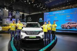 超牛插电主流SUV GS4 PHEV 天津区域上市