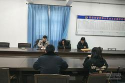 渤海大队加强危化品运输车辆交通管理