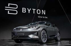 拜腾汽车首次亮相 让科技电动车走进现实