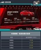 十代雅阁锐·混动正式上市 六款混动中型车推荐