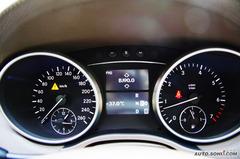 奔驰GL级GL450 经典型仪表板图片