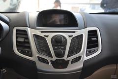 福特嘉年华两厢1.3L 手动 风尚型中控台图片