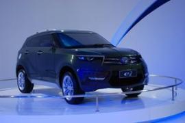海马c2汽车_海马10万紧凑型SUV 设计时尚/或明年上市-搜狐汽车