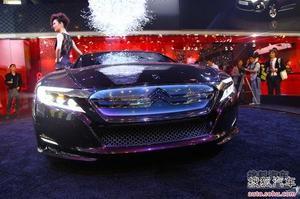 雪铁龙Numero 9概念车发布 DS系列旗舰车