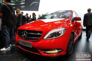 奔驰全新B级或三季度上市 预计30万起售