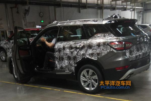 中华全新SUV首次曝光 或命名V6/年内发布