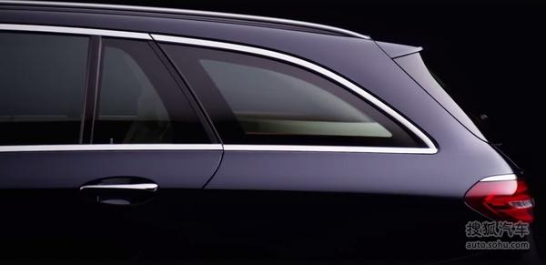 奔驰新E级旅行版预告图 6月6日全球首发
