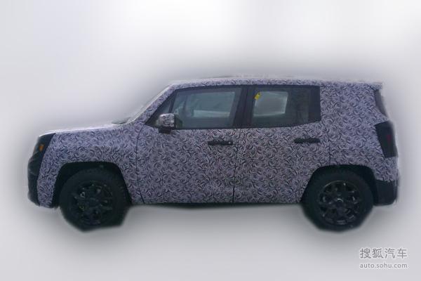 疑似国产Jeep自由侠谍照曝光 或年内上市